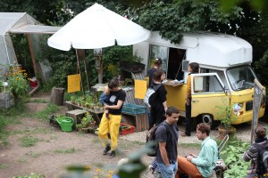 Das mobile Gartencafé