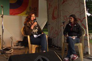 Schweizer Gäste - Interview mit Lucia vom sonOhr Hörfestival aus Bern