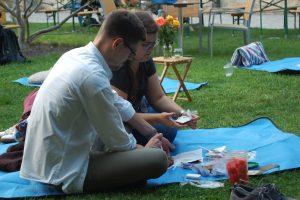 Festivalbesucher in Wittenberg