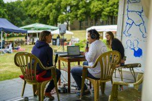 Radio Blau Live-Sendung - von Jupp Hoffmann Fotografie