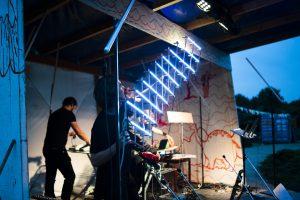 Ensemble Atonor & Erwin Stache Live auf der Bühne - von Jupp Hoffmann Fotografie