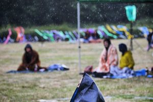 Regenwetter beim Hörspielsommer / Foto: Tino Pfundt