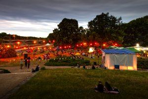 Hörspielsommer bei Nacht / Foto: Tino Pfundt